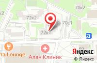 Схема проезда до компании Саунд Сток в Москве
