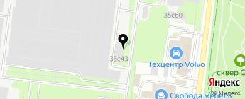 Итерра на карте Москвы