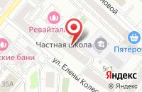 Схема проезда до компании Люксор в Москве