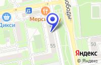 Схема проезда до компании ВОЕННО-ПАТРИОТИЧЕСКИЙ КЛУБ РОДИНА в Москве