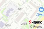Схема проезда до компании Ля Фамм в Москве