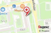Схема проезда до компании Диджитал Мьюзик в Москве