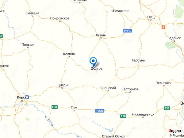 поселок Грачевка 2-я на карте