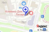 Схема проезда до компании SMC NETWORKS в Москве
