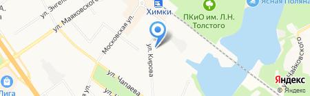 Сбербанк России на карте Химок