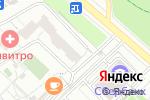 Схема проезда до компании Дента-Рус в Москве