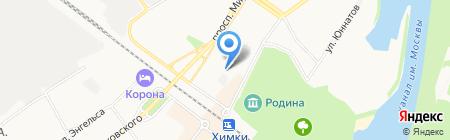 Детский сад №2 на карте Химок