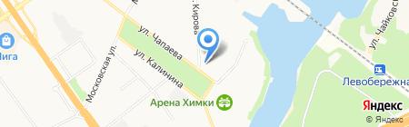 ГИСС на карте Химок