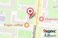 Схема проезда до компании Патио кухни в Нижнем Новгороде