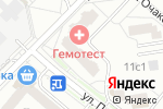 Схема проезда до компании Факсимиля.ру в Москве