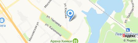 ФОТОграфика на карте Химок