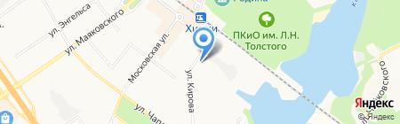 Юкон-99 на карте Химок