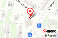 Схема проезда до компании Технопром в Москве