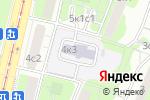 Схема проезда до компании Средняя общеобразовательная школа №830 с дошкольным отделением в Москве