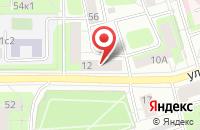 Схема проезда до компании Техносинтез в Москве