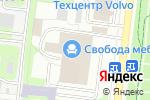 Схема проезда до компании Суперпосм в Москве