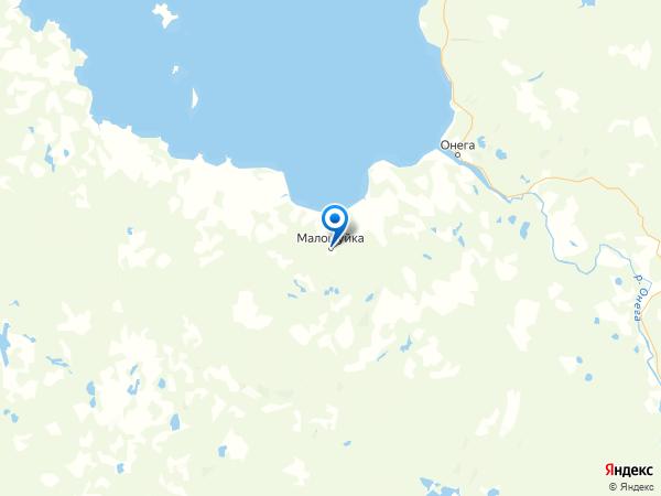 поселок городского типа Малошуйка на карте
