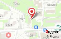 Схема проезда до компании Нордфест в Москве