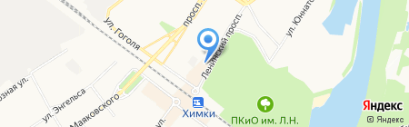 Антева на карте Химок
