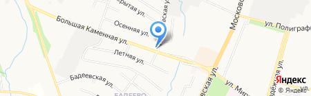 Шиномонтажная мастерская на Большой Каменной на карте Чехова