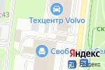 Схема проезда до компании На Колесах.ru в Москве