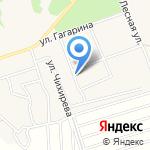 Уголовно-исполнительная инспекция на карте Ленинского