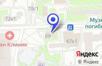 Схема проезда до компании ТФ КЛЯКСА в Москве