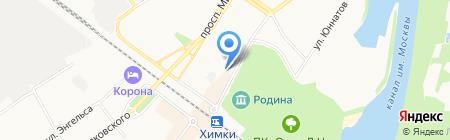 Детский сад №34 на карте Химок