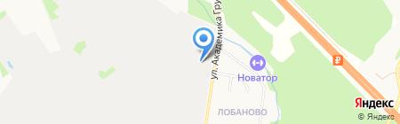 Факел на карте Химок