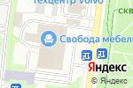 Схема проезда до компании Мебель Неман в Москве