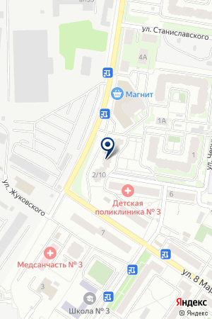 АВТОСТОЯНКА АВТОМОБИЛИ на карте Химок
