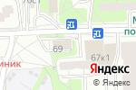 Схема проезда до компании Ремешок в Москве