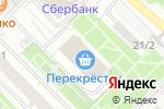 Схема проезда до компании Турагентство в Москве