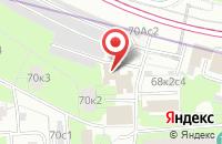 Схема проезда до компании Разноэкспорт в Москве