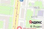 Схема проезда до компании ЦВЕТыТУТ в Москве