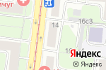 Схема проезда до компании Винокома в Москве