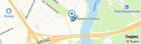 Химки-СМИ на карте Химок