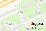 Схема проезда до компании QCY SOUND в Москве