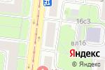 Схема проезда до компании Судебная защита в Москве
