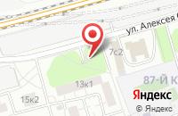 Схема проезда до компании Трейд Инвест в Москве