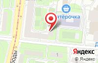 Схема проезда до компании Монокон-сервисъ в Москве