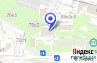 Схема проезда до компании АВТОСЕРВИСНОЕ ПРЕДПРИЯТИЕ ТРИ-А-МОТОРС в Москве