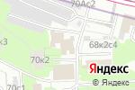 Схема проезда до компании Компания Фасады в Москве