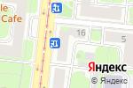 Схема проезда до компании Фиолент в Москве