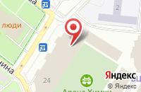 Схема проезда до компании Управление пресс-службы в Химках