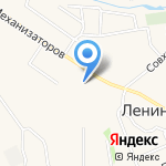 Юниор на карте Ленинского