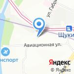 Право-Инвест на карте Москвы