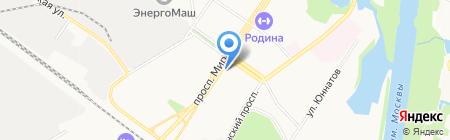Венец на карте Химок