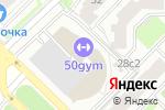 Схема проезда до компании Мужская территория в Москве