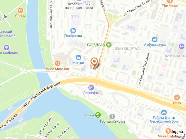 Остановка «Просп. Марш. Жукова», Живописная улица (1408) (Москва)